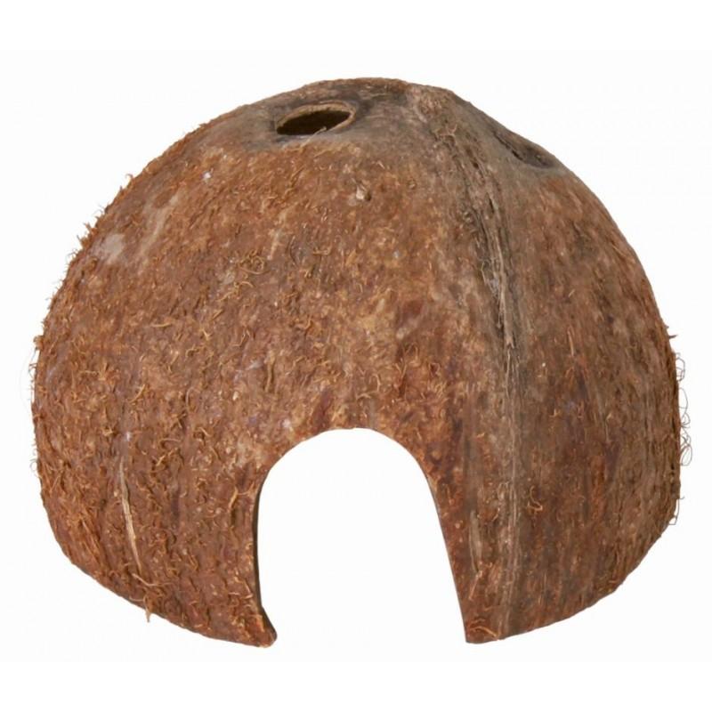 Metades de Casca de Coco - 3 un (8,10 e 12 cm de Diâmetro)